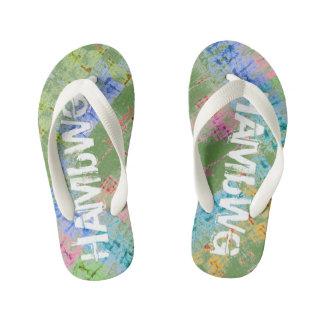 HAMbyWG Slim Straps Flip-Flops Multi-Colour Kid's Thongs