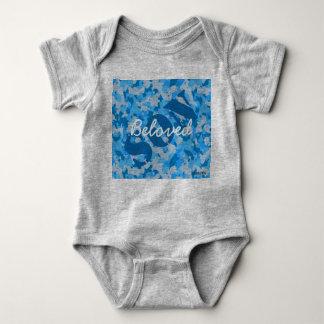 HAMbyWG - T-Shirt - Beloved Son Blue Camouflage