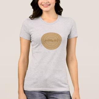 HAMbyWG - T-Shirt  Boho Circle in Caramel Gray T