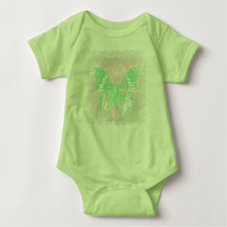 HAMbyWG - T-Shirt - Green Butterfly