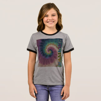 HAMbyWG - T-Shirts - Tie Dye Multi-Color Side Logo