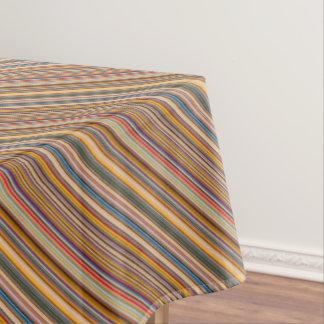HAMbyWG - Table Cloth - Colorful Bar Stripes