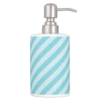 HAMbyWG - TB Holder n Soap Dispenser - Blue Stripe