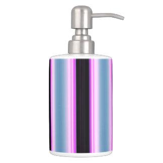HAMbyWG TB Holder n Soap Dispenser- Blue Violet Bk