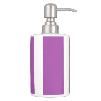 HAMbyWG TB Holder n Soap Dispenser- Violet & White