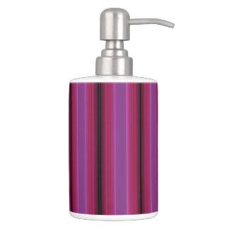 HAMbyWG TB  n Soap Dispenser- Raspberry Violet Bathroom Set