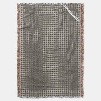 HAMbyWG - Throw Blanket  Modern Grayish Blue