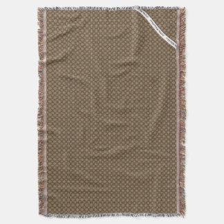 HAMbyWG - Throw Blanket  Modern Tan & Jade