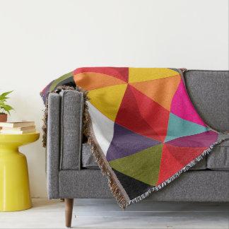 HAMbyWG - Throw Blanket - Multi Colored Diamonds