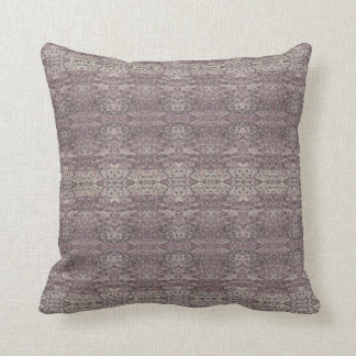 "HAMbyWG - Throw Pillow 16"" - Mauve Persian Coord"