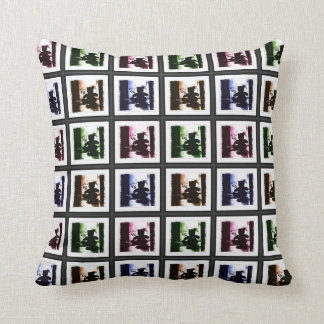 HAMbyWG -  Throw Pillow - Gothic Teddy's