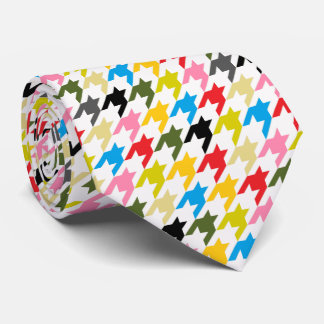 HAMbyWG - Tie - Multi Color Houndstooth