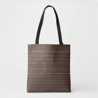 HAMbyWG - Tote Bag - Fine Lines - Browns