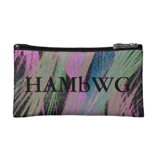 HAMbyWG - Travel Bags - Colored Lines on Black