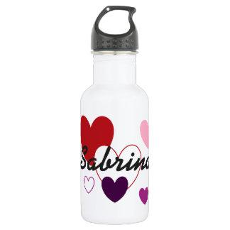 HAMbyWG - Water Bottle - Hearts & A Name