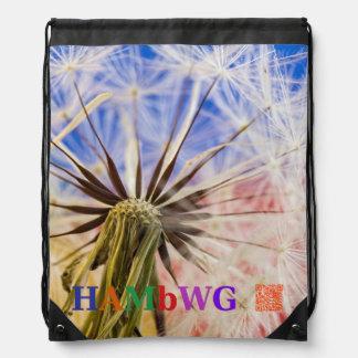 "HAMbyWG  ""Wish"" Drawstring Backpack"
