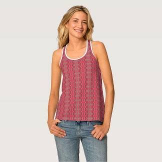 HAMbyWG - Woman's Tank Top - Pink Indian