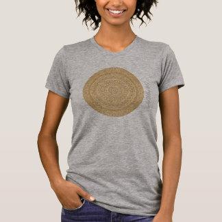 HAMbyWG - Womens  Boho Circle in Ochre T-Shirt