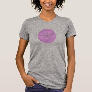 HAMbyWG - Womens  Boho Circle in Pink T-Shirt