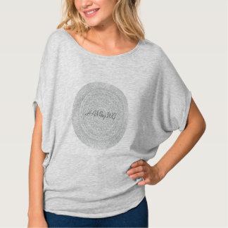 HAMbyWG - Womens  Boho Circle T-Shirt