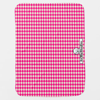 HAMbyWhiteGlove - Bella Poodle Baby Blanket