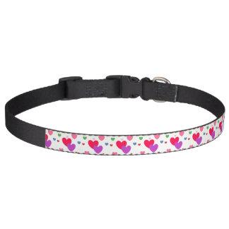 HAMbyWhiteGlove - Collar - Colored Hearts