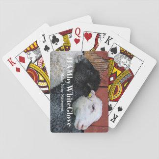 HAMbyWhiteGlove - Playing Cards - Black & White