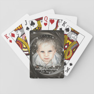 """HAMbyWhiteGlove - Playing Cards -  """"Just Because"""""""