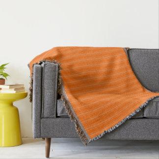 HAMbyWhiteGlove - Throw Blanket - Orange/Orange