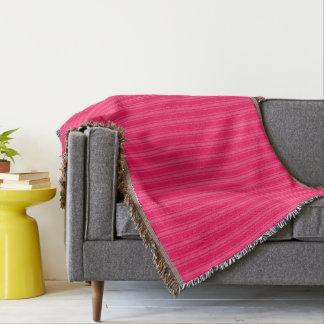 HAMbyWhiteGlove - Throw Blanket - Pink/Pink