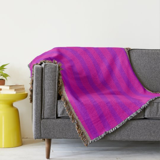 HAMbyWhiteGlove - Throw Blanket - Pink/Purple