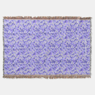 HAMbyWhiteGlove - Throw Blanket - Purple Camou