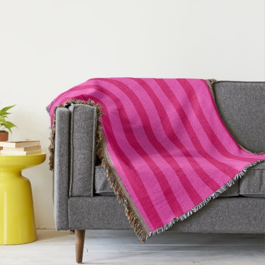 HAMbyWhiteGlove - Throw Blanket - Rose/Pink