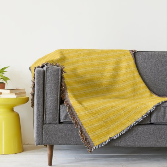 HAMbyWhiteGlove - Throw Blanket - Yellow/Yellow
