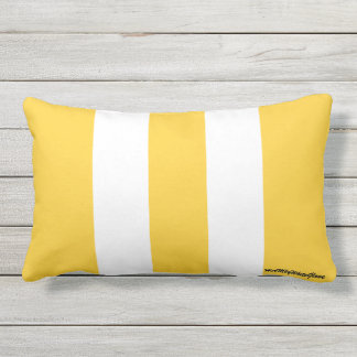 HAMbyWhiteGlove - Throw Pillow - Tangerine White