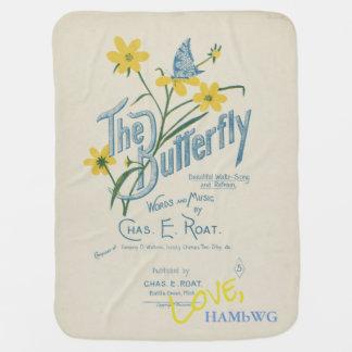 HAMbyWhiteGlove - Vintage Design Baby Blankets Pramblanket