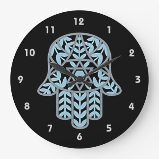 Hamesh Hamsa Wall Clock