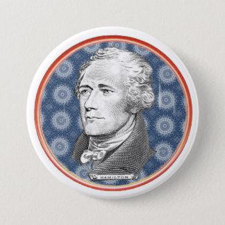 Hamilton 7.5 Cm Round Badge