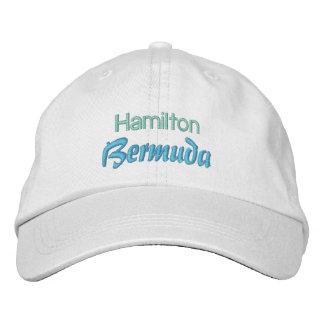HAMILTON, BERMUDA cap Baseball Cap