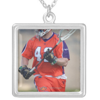 HAMILTON, CANADA - MAY 19:  Scott Rodgers #42 Silver Plated Necklace