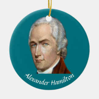 Hamilton Christmas Ornament