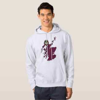 Hamilton Clan Badge Adult Hoodie