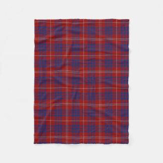 Hamilton Clan Tartan Plaid Fleece Blanket