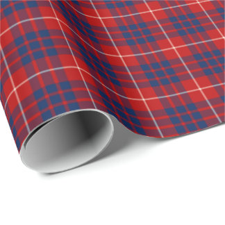 Hamilton Clan Tartan Wrapping Paper