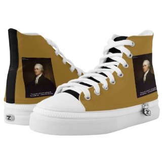 "Hamilton ""Fall For Anything"" Hightop Sneakers"