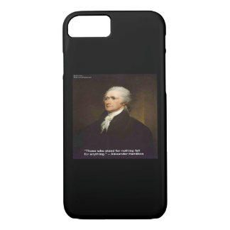"Hamilton ""Fall For Anything"" iPhone 7 Phone Case"