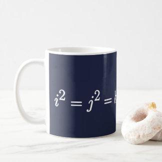 Hamilton Quaternion Science Mathematical Mug