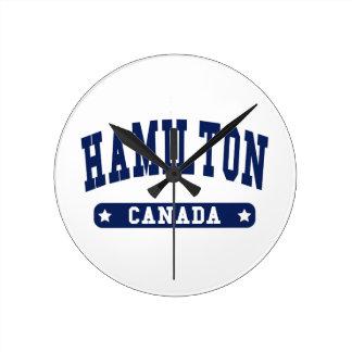 Hamilton Round Clock