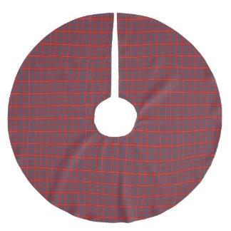 Hamilton Scottish Tartan Brushed Polyester Tree Skirt