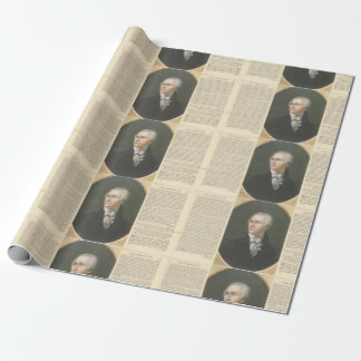 Hamilton & The Federalist wrapping paper